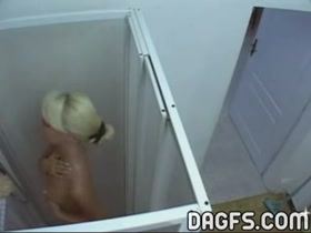 Spy a hot ex gf in shower